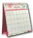 2021 Standing Desk Calendar (Flowers)