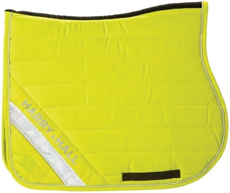 Harry Hall HiViz Horse Saddlecloth Yellow x Size  Pony