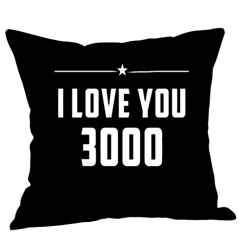 I love you three thousand times print linnen kussenslopen lendenkussen sofa kussensloop voor bank huis kamer auto decoratie, 45 x 45 cm By Vovotrade