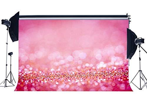 DLQX Bokeh Hintergrund Glitter Pailletten Sparkles Neons Romantische Dekoration Tapete Fotografie Hintergrund Für Mädchen Liebhaber Hochzeit
