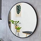 Espejo de Baño Espejo Maquillaje Espejo de baño Mirado Redondo Grande Mirado de Pared Material Material de Maquillaje...