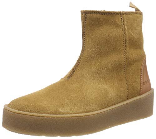 TEN POINTS Damen Johanna Hohe Sneaker, Braun (Cognac 319), 37 EU