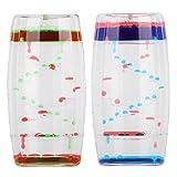 2 piezas de burbujeador de movimiento líquido para niños y