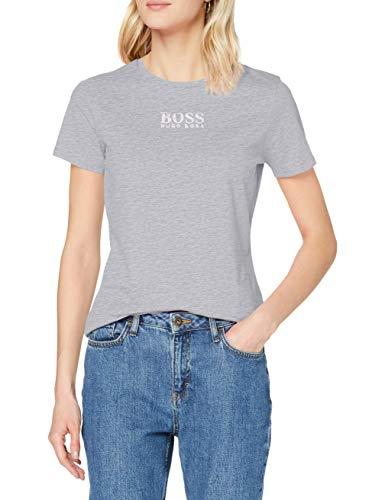 BOSS C_Eloga 10228667 01 Camiseta, Plata, M para Mujer
