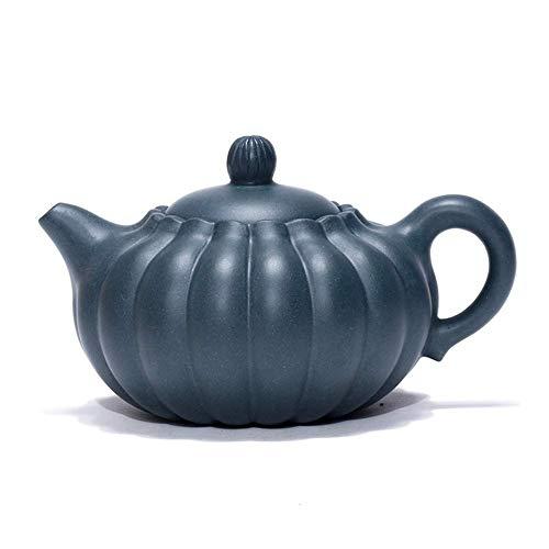 Tetera,Tetera de hierro fundido,Teapot Set mineral Grain is tendons Day Qingni Crisantemo Bud tetera famosa Hand Tips Decoración del hogar Presente