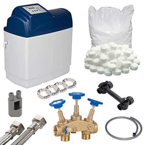 Wasserenthärtungsanlage Eco Maxi 26 | Anschlussset Enthärtungsanlage