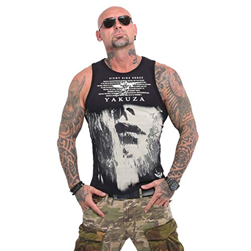 Yakuza Herren Armed Angel Tank Top T-Shirt