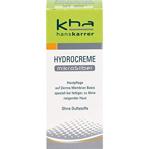 Hans Karrer Hydrocreme Mikrosilber bei normaler bis fettiger Haut, 30 ml Creme