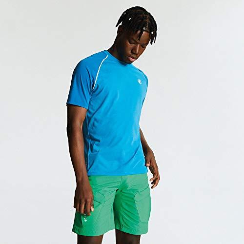 Dare 2b Wool T T-Shirt Technique léger Homme Institute, Atlantic/PTR, FR (Taille Fabricant : XL)