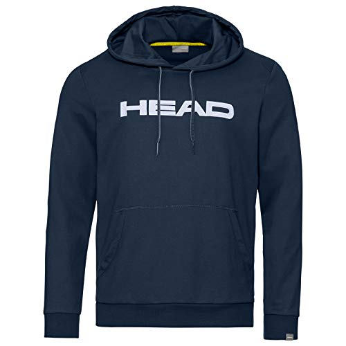 Head Club Byron, Felpa Uomo, Dark Blue/White, L