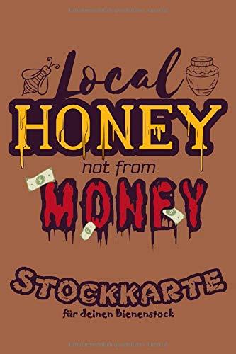 Stockkarte für selbstgemachten Honig: Bienen Stockkartebuch für Imker zum Ausfüllen & Notieren am Bienestock für den besten Honig   Checkliste   50+ Stockkarten   120 Seiten   6x9 ca. DinA5