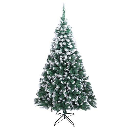 hsy Artificial Christmas Tree Unlit with Easy Assembly Foldable Stand Perfect Holiday Christmas Tree