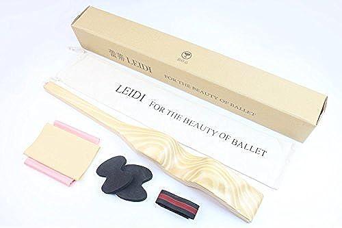 Hhor Pied de Ballet artefact de Pied de Pied de Danse Dance Dispositif de Pied Dorsal latéral Civière de Pied de Ballet, Sept Morceaux de Bois