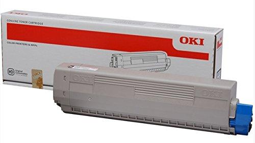 OKI 44844508–Toner Schwarz–10.000Handschuhe Toner für C831/C841, schwarz, 10000Seiten