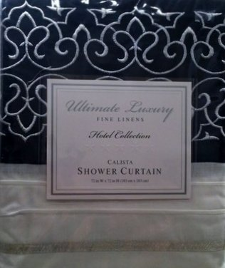 "Bed Bath & Beyond Springs Calista White 72"" W X 72"" L Shower Curtain"