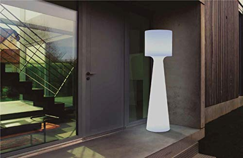 GRACE-Lampadaire d'extérieur H140cm Blanc New Garden