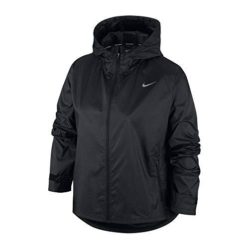 Nike Essential Kapuzenjacke M Black/Reflective silv