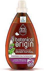 Botanical Origin Detergente para lavadora ecológico apto para pieles sensibles, Fragancia Jazmín Fre
