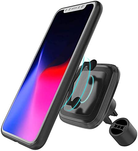 Gblesin Wireless Car Charger 15W Qi Fast Wireless Charging Magnetic Air Vent Mount Holder for product image