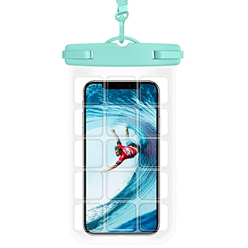 """Universal Waterproof Pouch Cellphone,Cljlixcy Floating Underwater Case Dry Bag with Lanyard for for iPhone 12 Pro Max 11 Pro Max Xs Max XR X 8 7 6S, Galaxy S21 S20 Ultra S10 Note10 9 up to 6.9"""""""