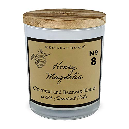 Red Leaf Home Honey Magnolia - Beeswax Collection Candle