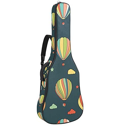Globos de aire caliente, Guitarra Gig Bolsa de Transporte Funda Protectora Impermeable...