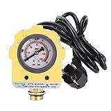 Npt1 / 2'Práctico interruptor de presión de 220 V y 10 bares, interruptor de control de presión de alta calidad, bomba de pozo profundo para bomba sumergible, bomba autocebante, bomba de