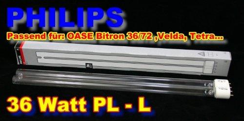 Philips 36 Watt UV-C PL-L Ersatzlampe Länge: 415mm Version 2013
