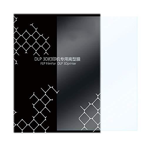 FEP Folie, 5 Stück, 0,15–0,2 mm, langlebig, FEP Folie, 140 x 200 mm, transparent, glatte Oberfläche, LCD-Bogen für LCD-3D-Drucker