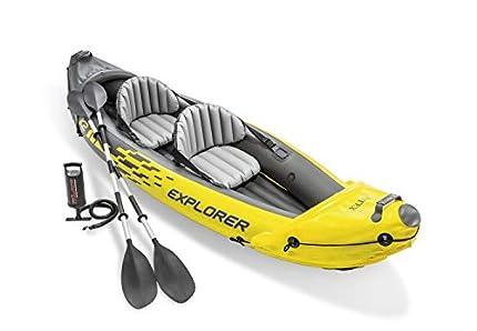 Intex Explorer K2: El Mejor Kayak Hinchable 2 Plazas