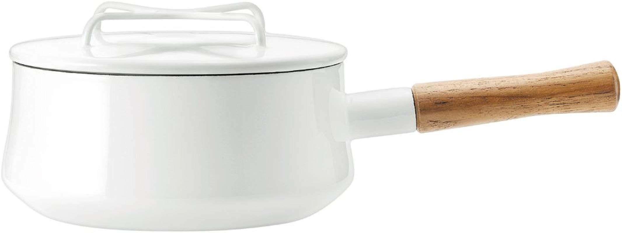 Dansk 833300 Kobenstyle White 2 QT Saucepan