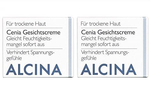 2er T Cenia Gesichtscreme pflegende Kosmetik Alcina gleicht Feuchtigkeitsmangel sofort aus je 50 ml = 100 ml