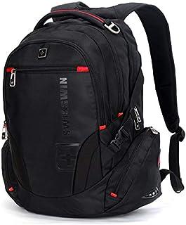 SWISSWIN Swiss Waterproof Business Backpack Travel Backpack College School Backpack Casual Daypack Daily Shoulder Bag SW81...
