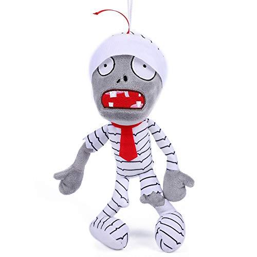 qinhuang Pflanzen Gegen Zombies PVZ Mumie Soft Plüsch Puppenspielzeug 30Cm Spielcharakter Soft Plüsch Ausgestopfte Puppe Geburtstagsgeschenk Für Kinder