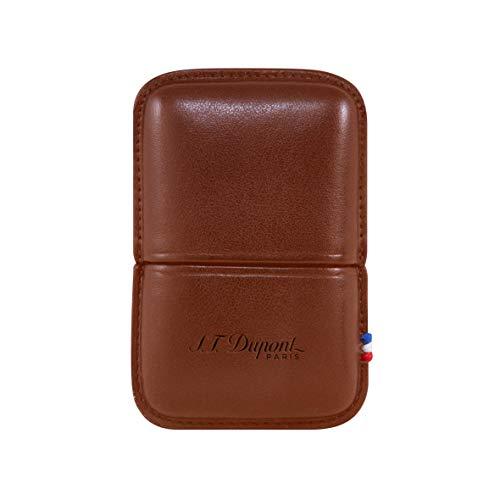 S.T. Dupont Line 2 Lighter Case - Brown