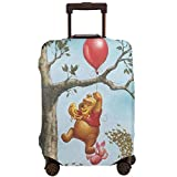 Travel Luggage Cover Anime Color Winnie The Pooh Suitcase Covers Protectors Zipper Washable Baggage Luggage Covers Fits L