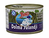Fantis Dolmas Stuffed Grape Leaves, vine leaves stuffed with rice, ready to eat meals - Mediterranean meal in a can pure wraps cooked rice, tasty food for a great snack 14 Ounce