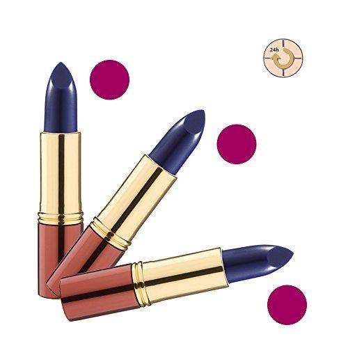 IKOS Lippenstift 3er Set: der denkende Lippenstift DL3 blau – aubergine