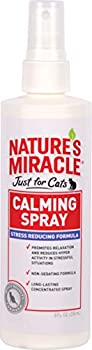 Nature s Miracle Just for Cats Calming Spray Stress Reducing Formula 8-ounce  P-5780