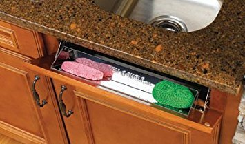Rev-A-Shelf 22in Stainless Steel Tip-Out Tray