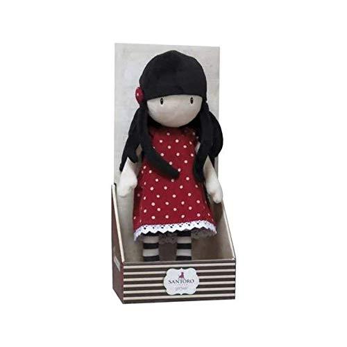 Gorjuss - Bambola di pezza 30 cm (CYP Imports