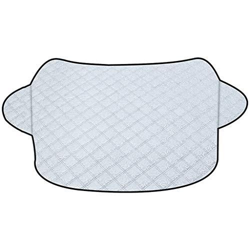 Zonnescherm Auto voorruit Cover, Duurzaam Shade Aluminium Foil Zon met twee anti-diefstal Oren, eenvoudig te monteren, Bescherm uw auto in All Weather Zonneschermen