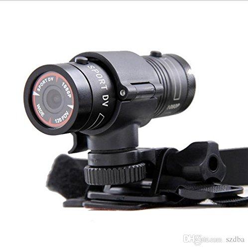 EPTEK Mini-F9-Kamera, 16GB Mikro-SD-Karte und Full HD 1080p, für Fahrrad- und Motorrad-Helm, Sport-, Action- und Video-Kamera, Video, DV-Camcorder, Auto, Videorecorder