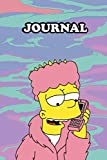 Journal Simpsons Notebook Calendar 2022 Planner Monthly Weekly Edition 1: Gift Kids Adult Collector