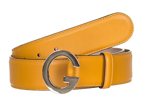 Gucci Women's Leather Belt - Orange_32