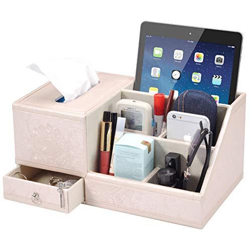 hsy Cesta de Almacenamiento de artículos Diversos,Juego de cajones de Escritorio Almacenamiento de cosméticos de Almacenamiento Colgante Organizador de papelería de Chic Size Home Utility Boxes