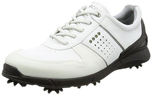 Ecco Men's Base One Golf Shoes, Weiß (1007WHITE), 12.5UK, (EU 47)