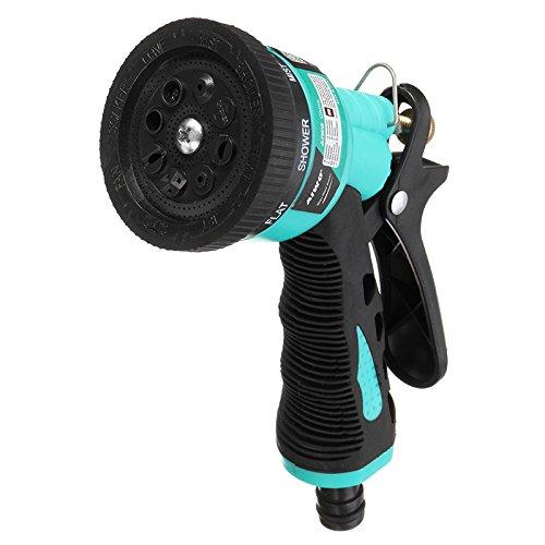 MXBIN 8 Muster Garten Wasserpistole Multifunktionale Haushaltsauto Waschwasser Sprayer Düse Streuen Werkzeuge Autopflege und Wartung