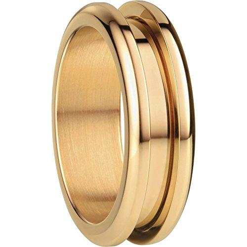 Bering Damen-Ring AußenRing Edelstahl teilvergoldet Gr. 54 (17.2) - 526-20-73
