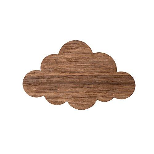 Ferm Living Cloud lámpara de pared, marrón, 25 x 40 x 6,5 cm